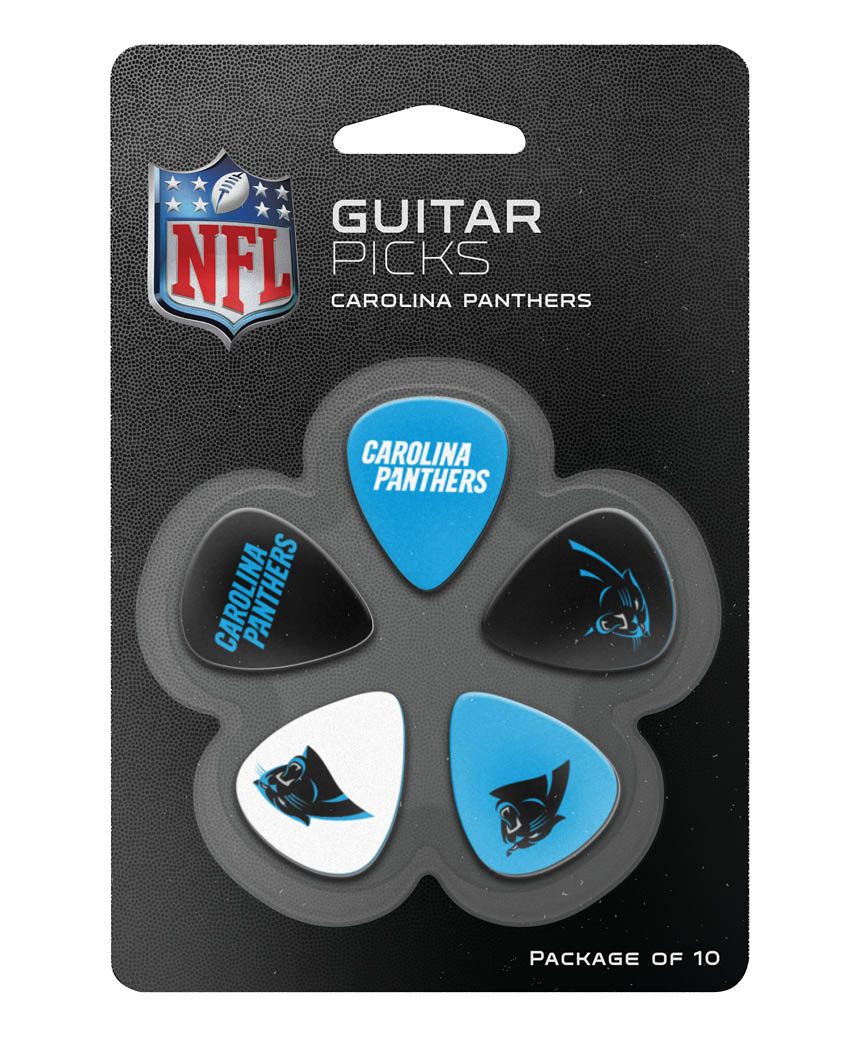 Product Cover for Carolina Panthers Guitar Picks