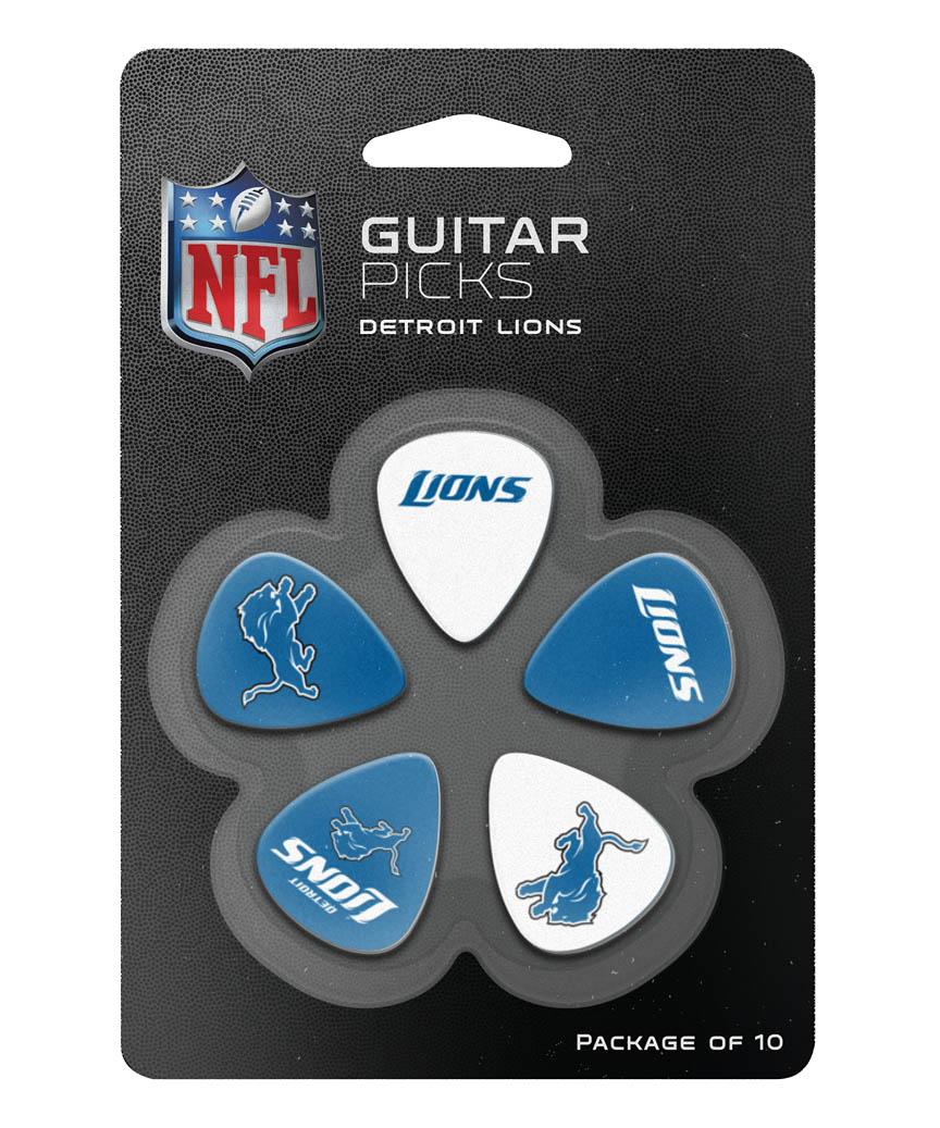 Product Cover for Detroit Lions Guitar Picks