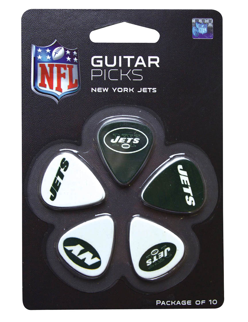 Product Cover for New York Jets Guitar Picks