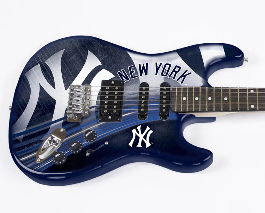Product Cover for New York Yankees Northender Guitar