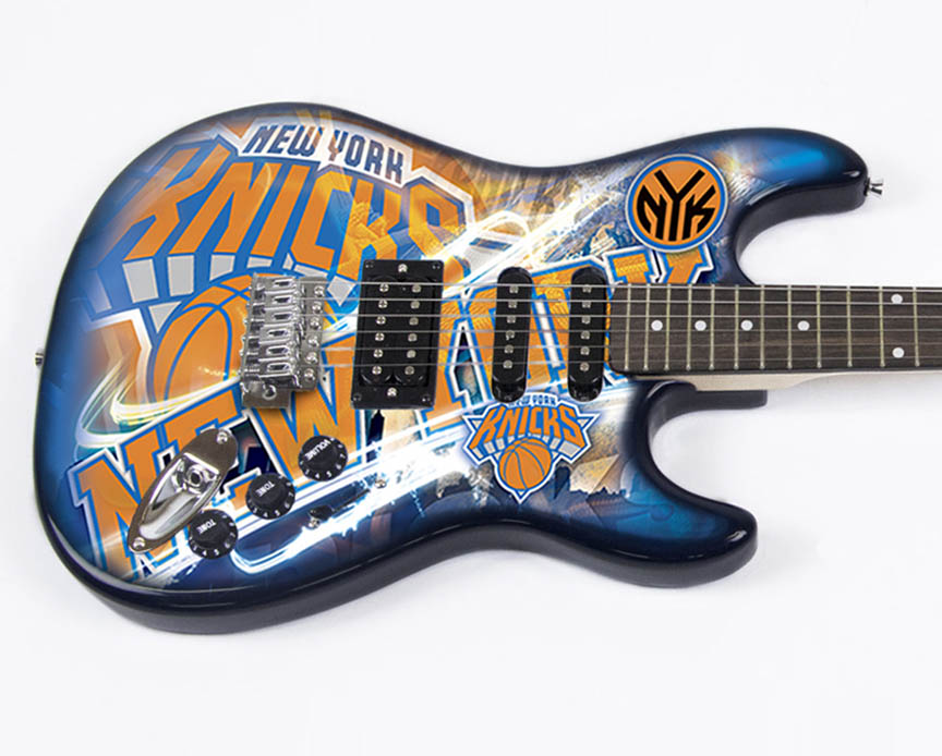 Product Cover for New York Knicks Northender Guitar