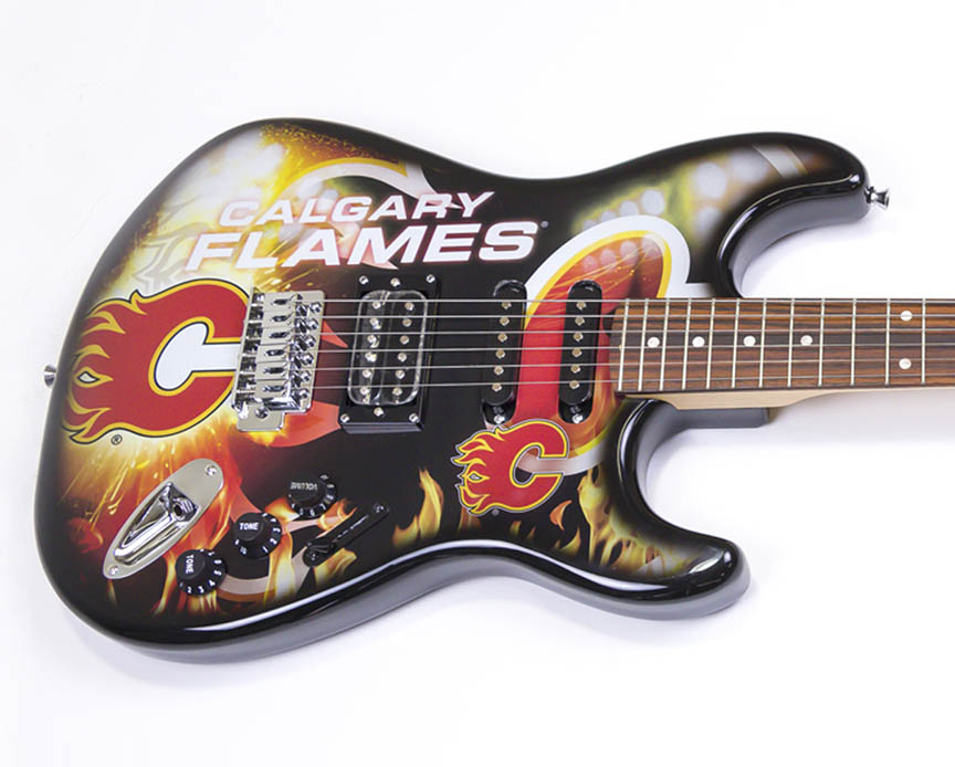 Product Cover for Calgary Flames Northender Guitar