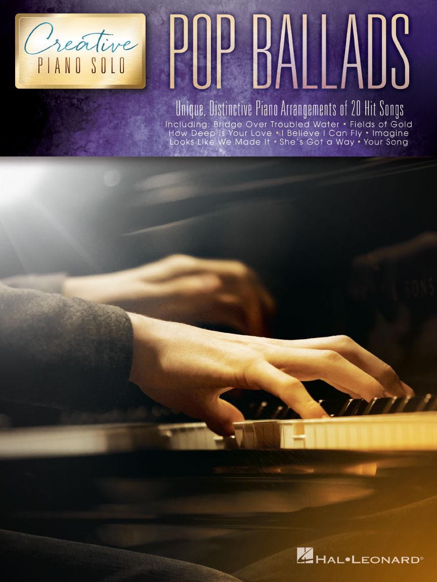 Product Cover for Pop Ballads – Creative Piano Solo
