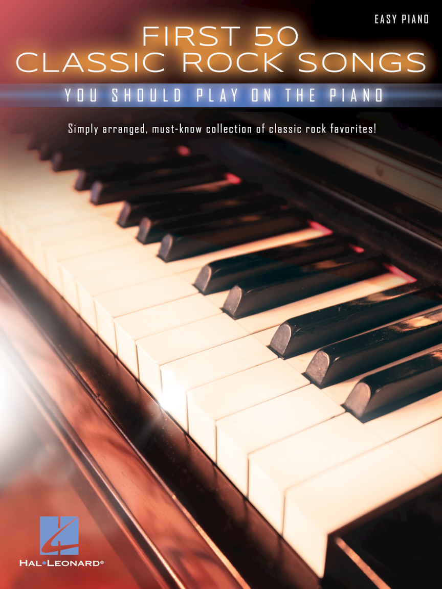 Product Cover for First 50 Classic Rock Songs You Should Play on Piano