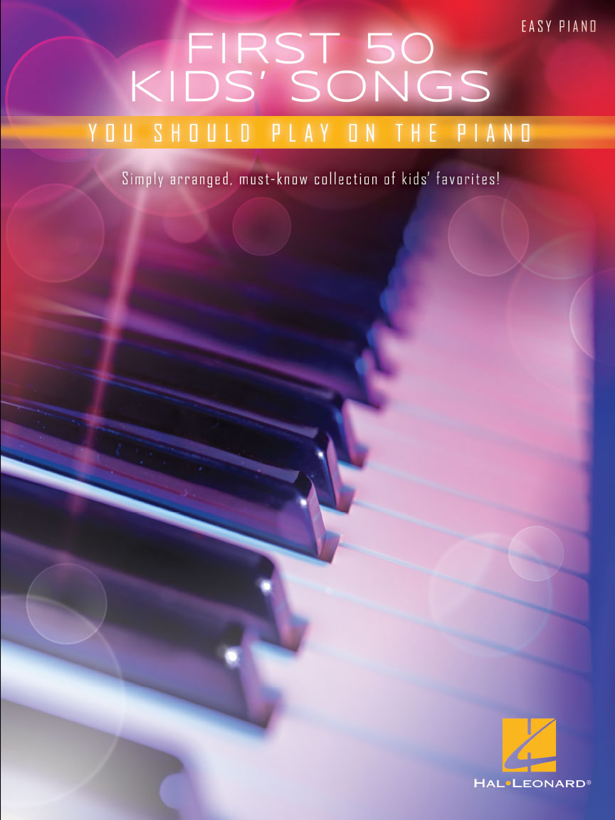 Product Cover for First 50 Kids' Songs You Should Play on Piano