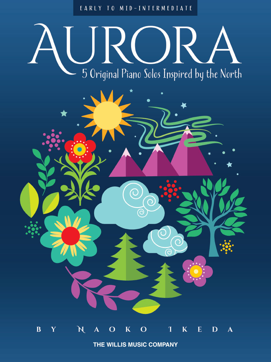 Product Cover for Aurora – 5 Original Piano Solos Inspired by the North