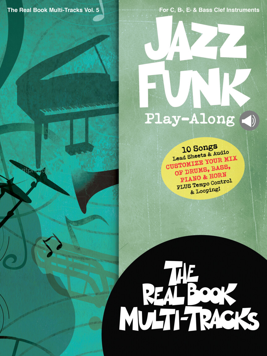 Jazz Funk Play-Along - Real Book Multi-Tracks Volume 5 | Hal