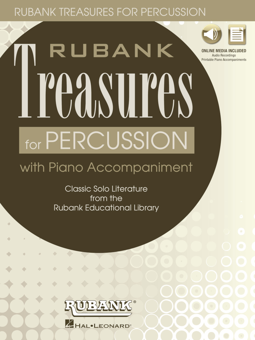 Product Cover for Rubank Treasures for Percussion