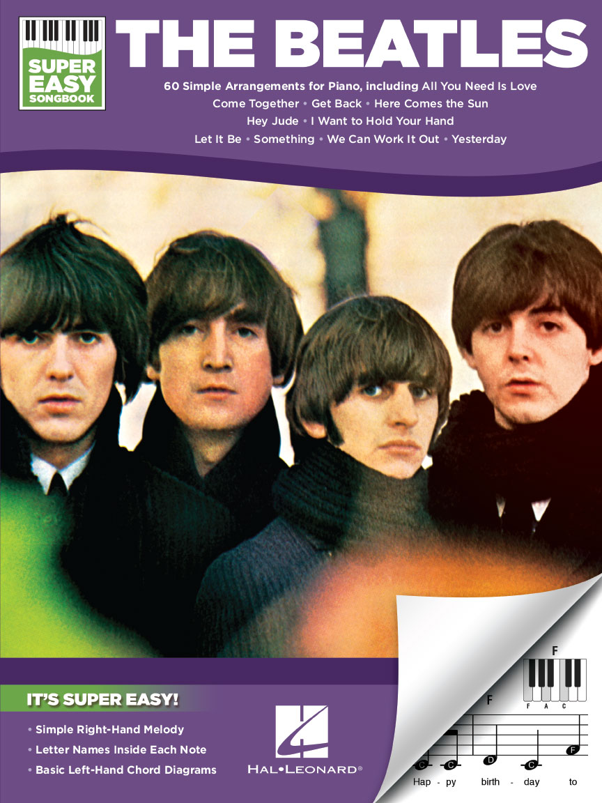 Product Cover for The Beatles – Super Easy Songbook