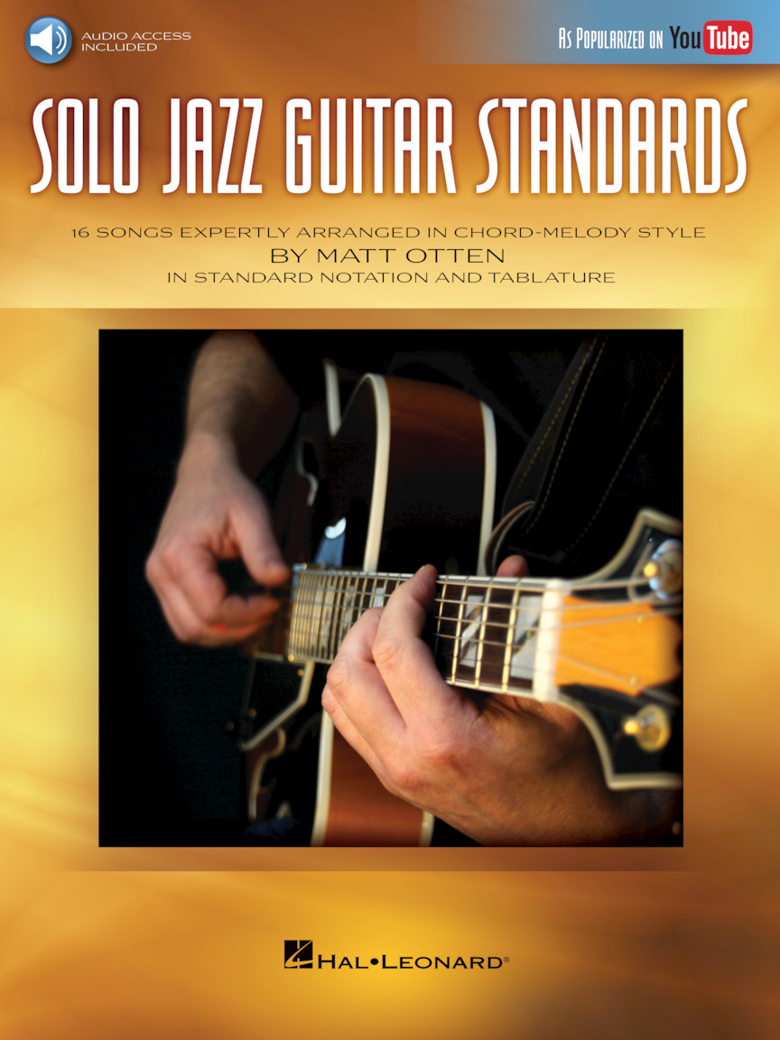 Product Cover for Solo Jazz Guitar Standards