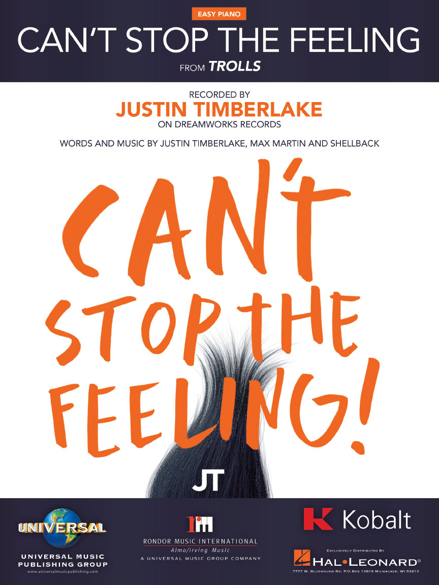 Product Cover for Can't Stop the Feeling