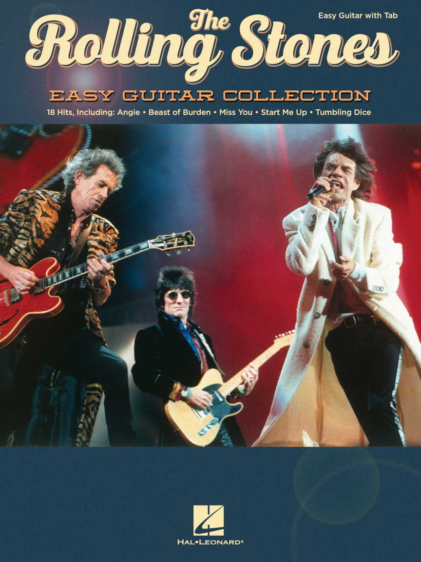 Product Cover for The Rolling Stones – Easy Guitar Collection