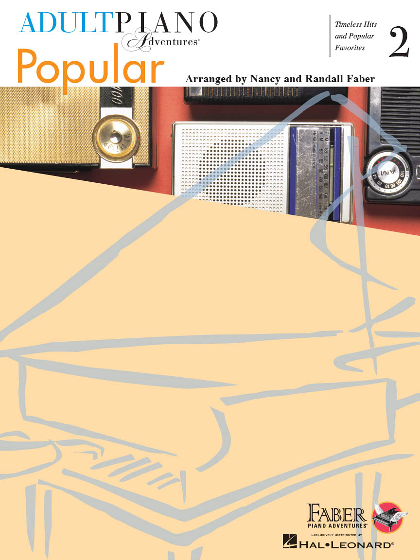 Product Cover for Adult Piano Adventures Popular Book 2