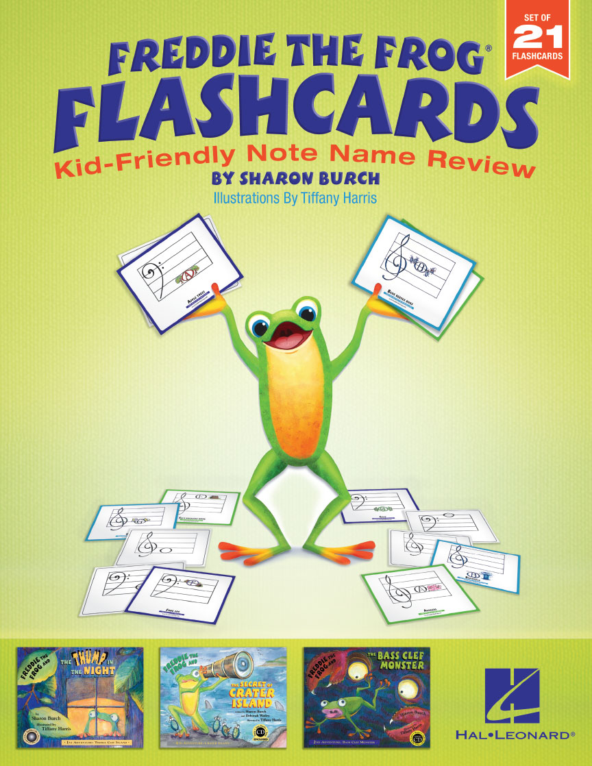 Product Cover for Freddie the Frog® Flashcards