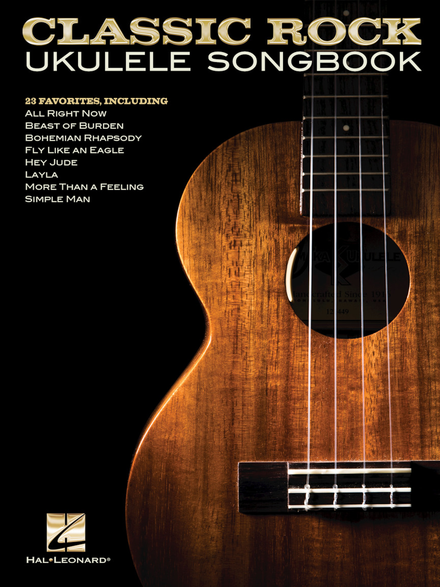 Product Cover for Classic Rock Ukulele Songbook
