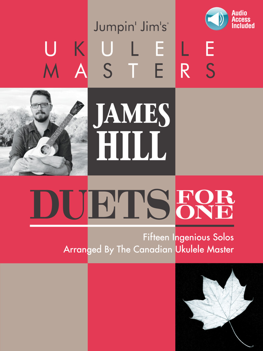 Product Cover for Jumpin' Jim's Ukulele Masters: James Hill