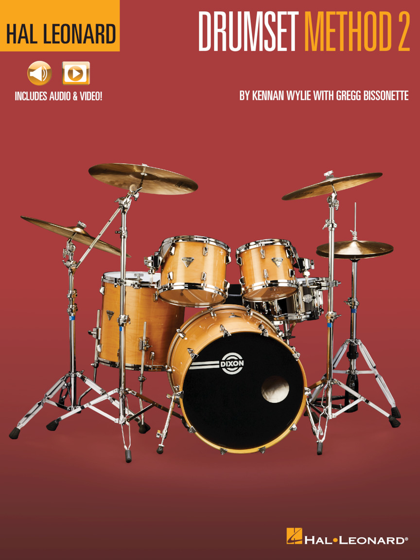Product Cover for Hal Leonard Drumset Method – Book 2