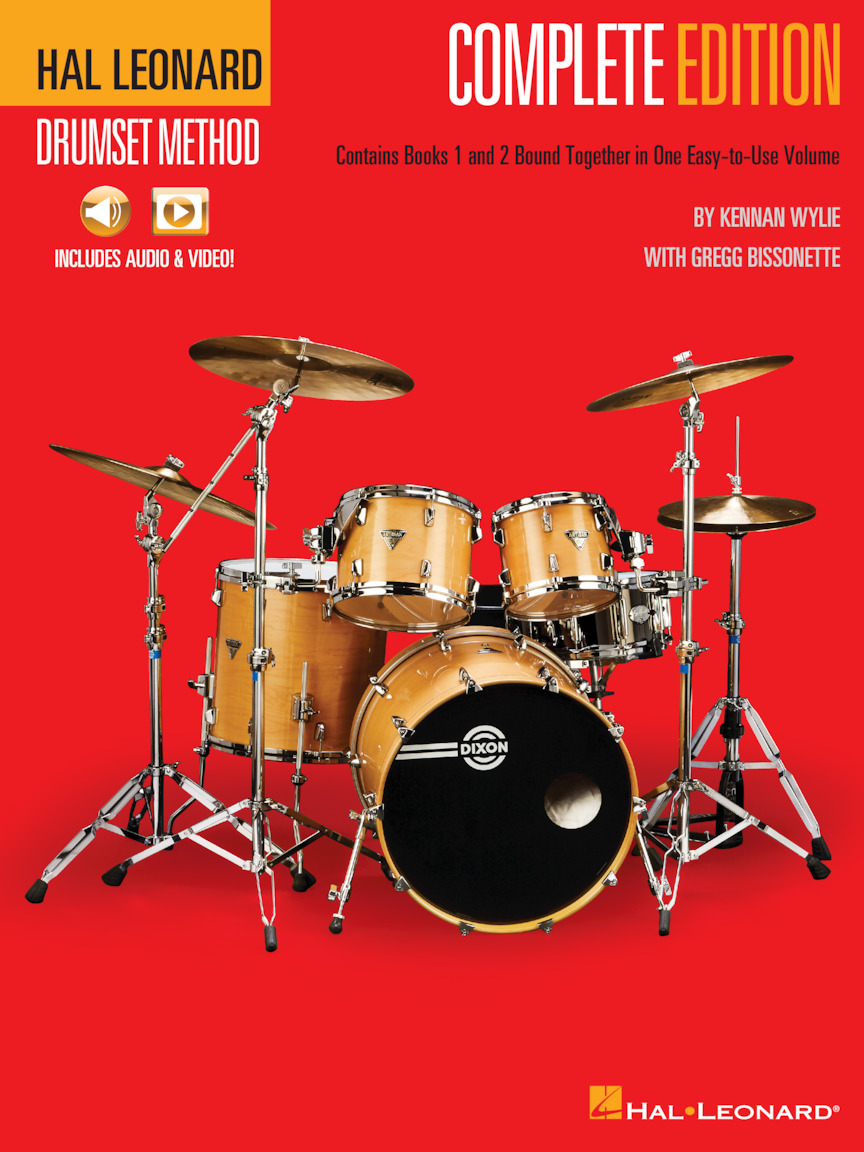 Product Cover for Hal Leonard Drumset Method – Complete Edition