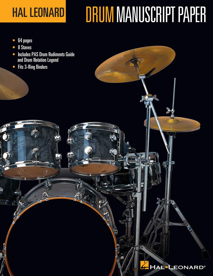Hal Leonard Drum Manuscript Paper | Hal Leonard Online