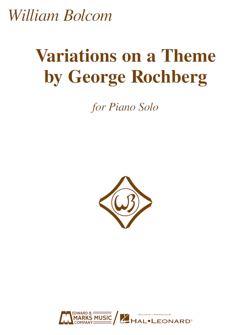 Product Cover for Variations on a Theme by George Rochberg