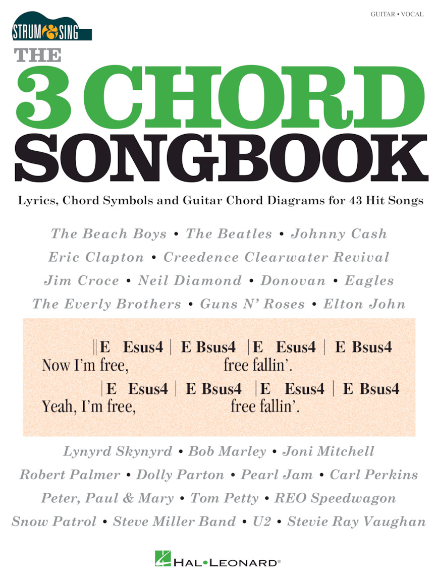 Product Cover for The 3 Chord Songbook – Strum & Sing Guitar