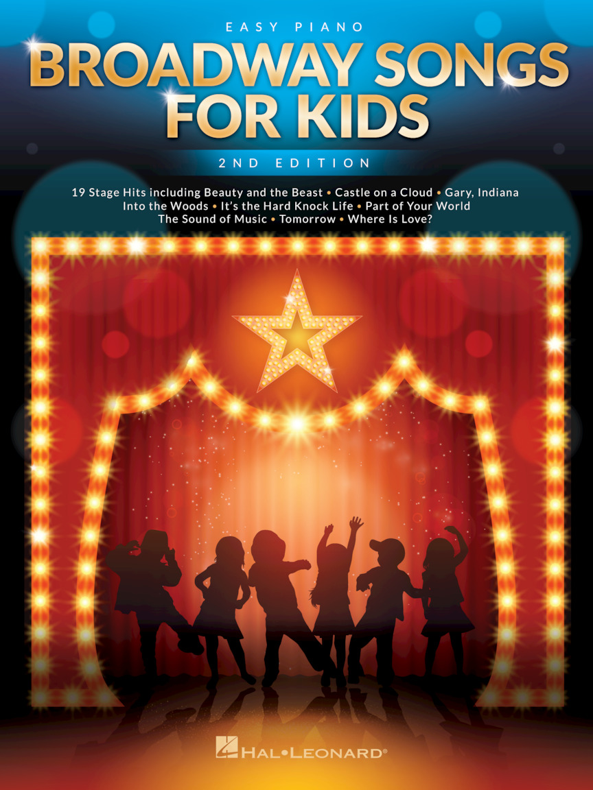 Product Cover for Broadway Songs for Kids – 2nd Edition