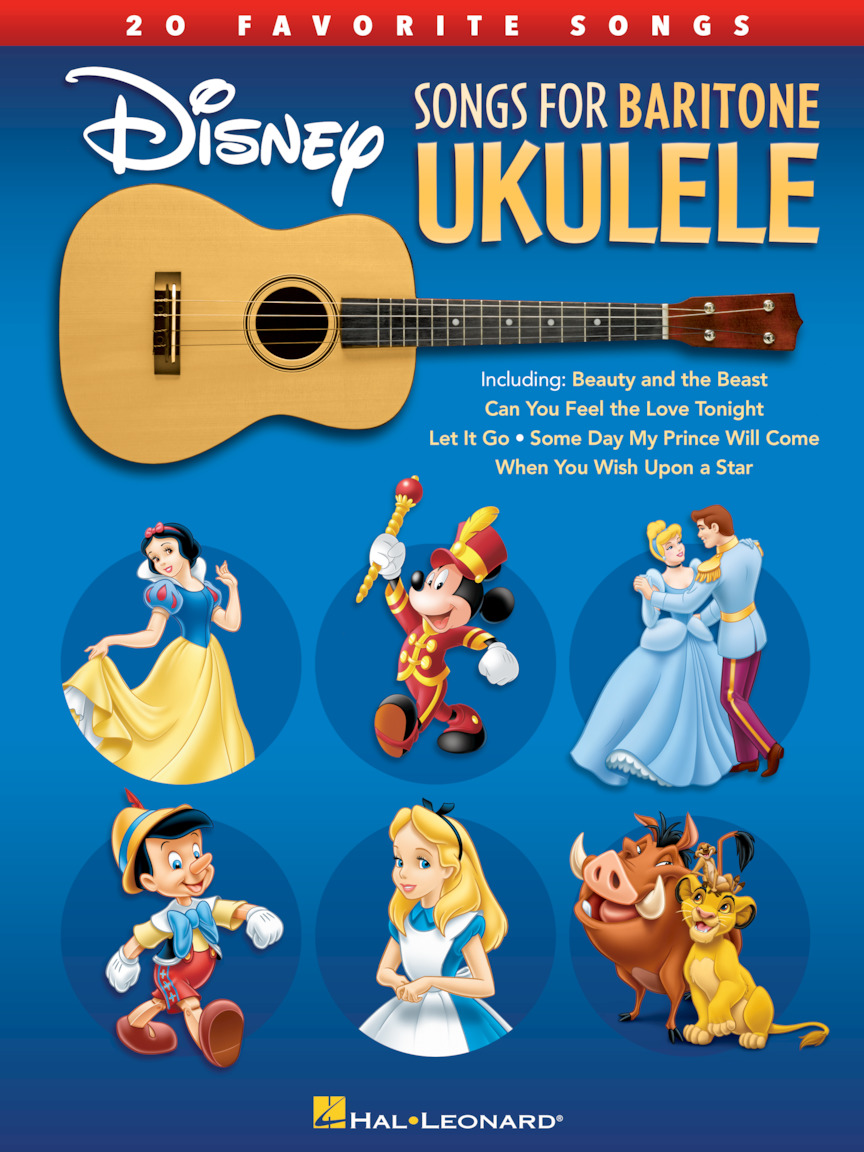Product Cover for Disney Songs for Baritone Ukulele