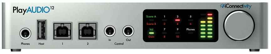 Product Cover for iConnect PlayAUDIO 12
