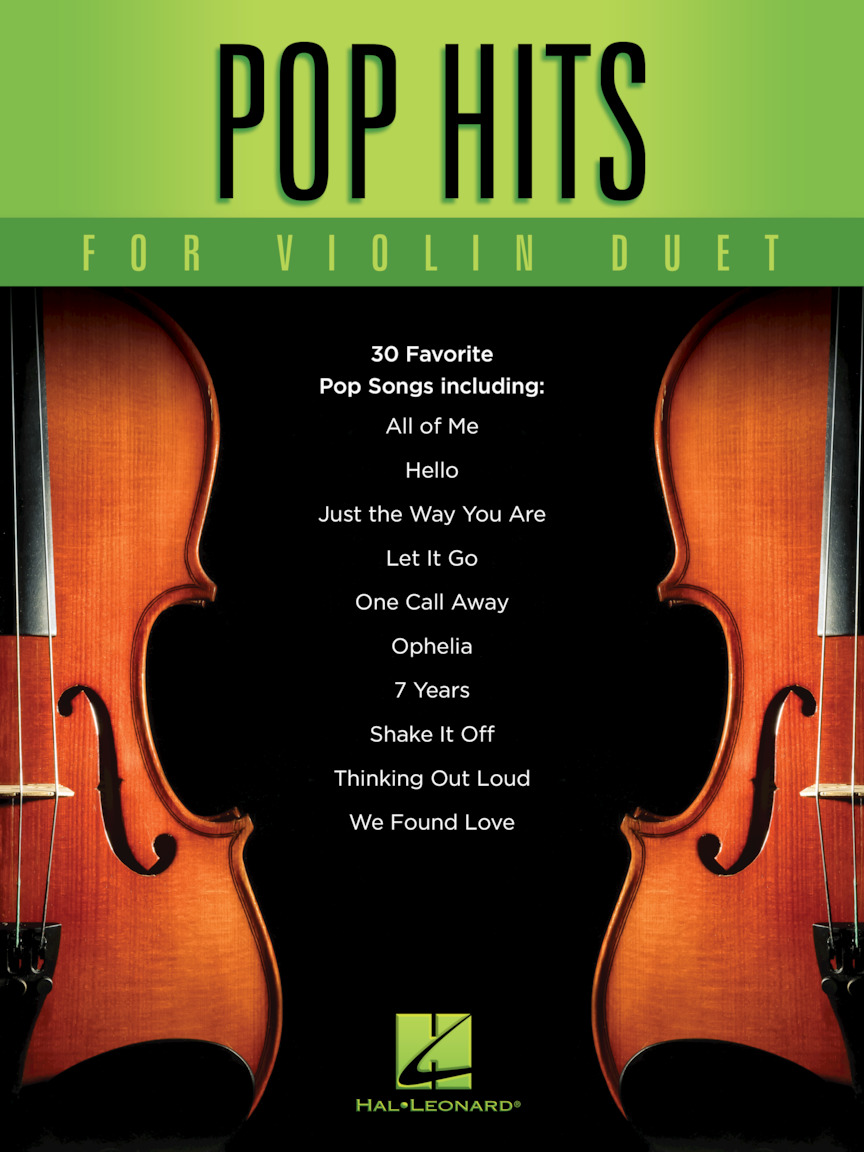 Product Cover for Pop Hits for Violin Duet