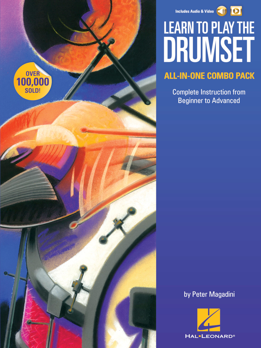 Product Cover for Learn to Play the Drumset – All-in-One Combo Pack