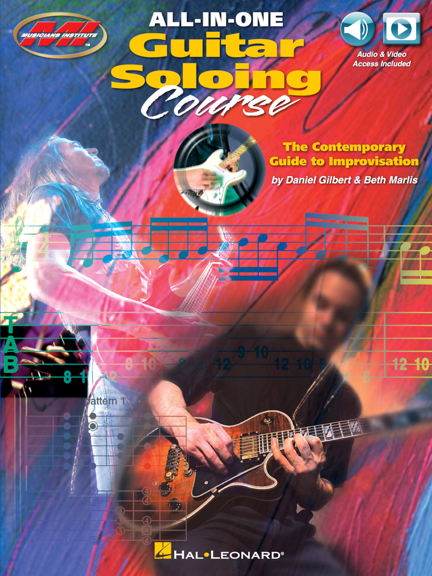 Product Cover for All-in-One Guitar Soloing Course