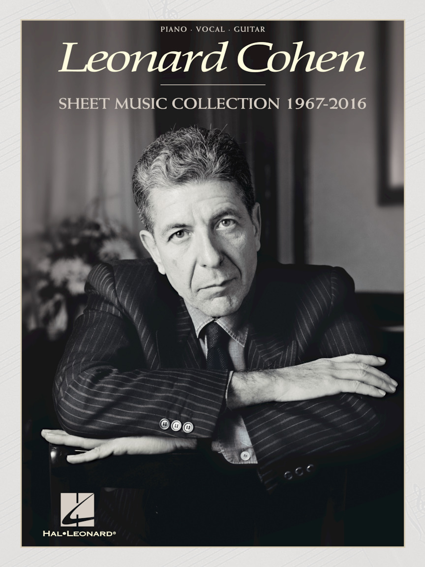 Product Cover for Leonard Cohen – Sheet Music Collection: 1967-2016