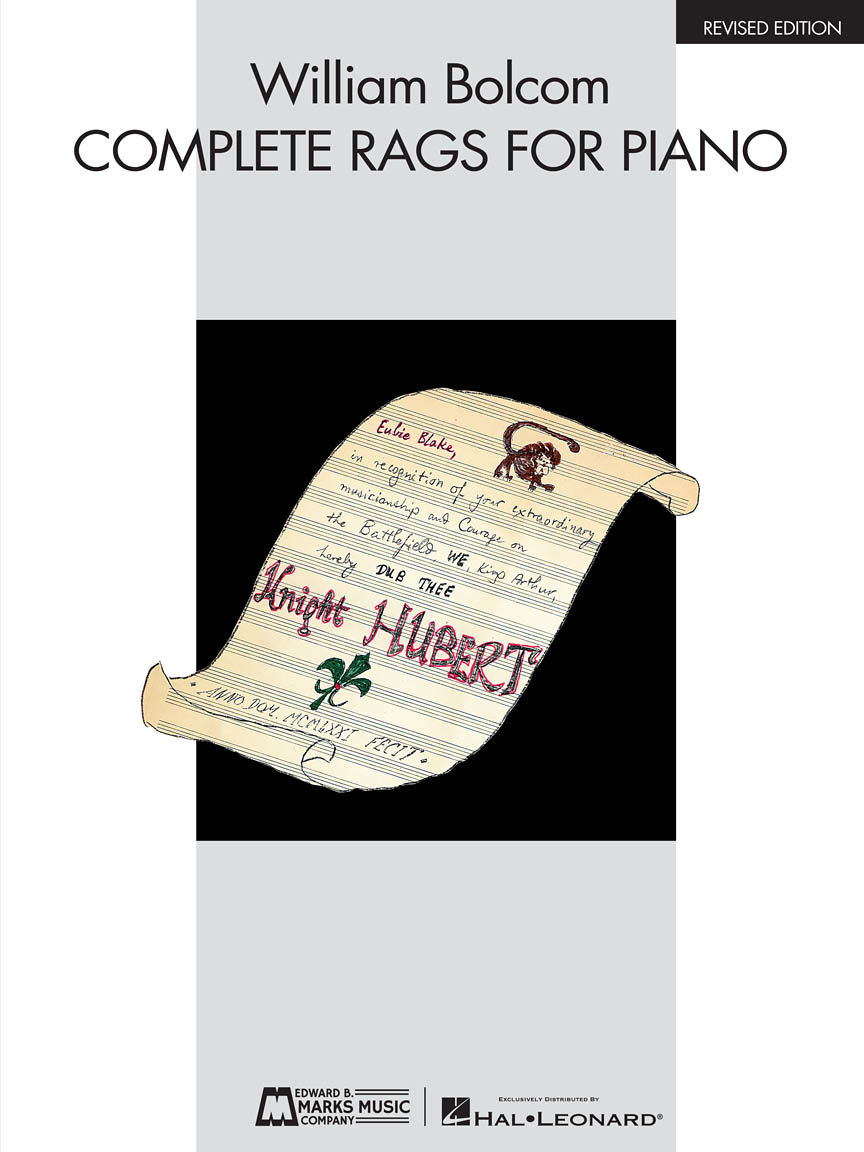 Product Cover for William Bolcom – Complete Rags for Piano