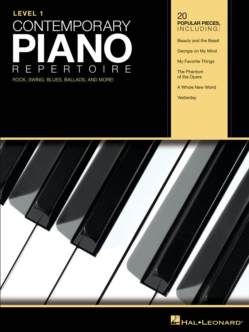 Product Cover for Contemporary Piano Repertoire – Level 1
