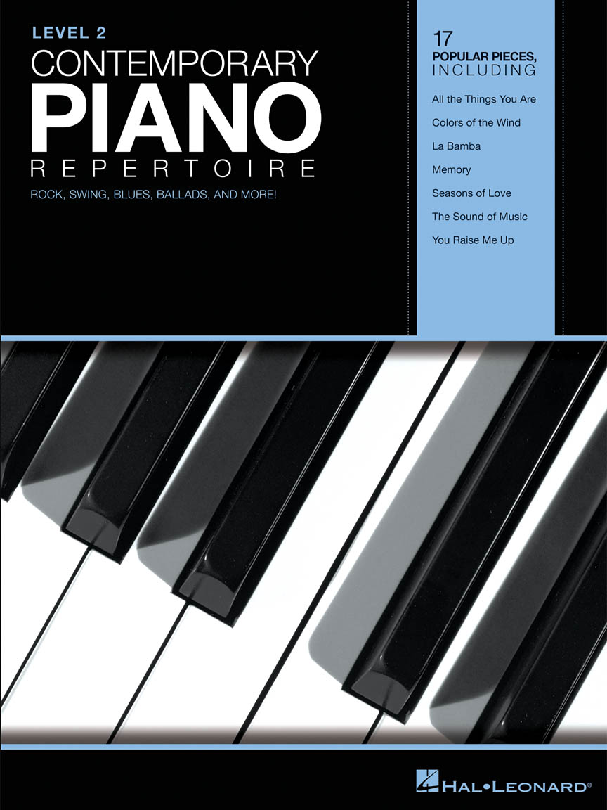 Product Cover for Contemporary Piano Repertoire – Level 2