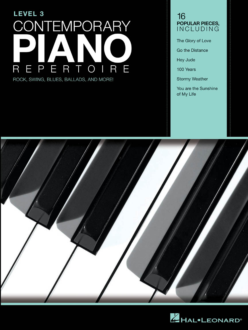 Product Cover for Contemporary Piano Repertoire – Level 3