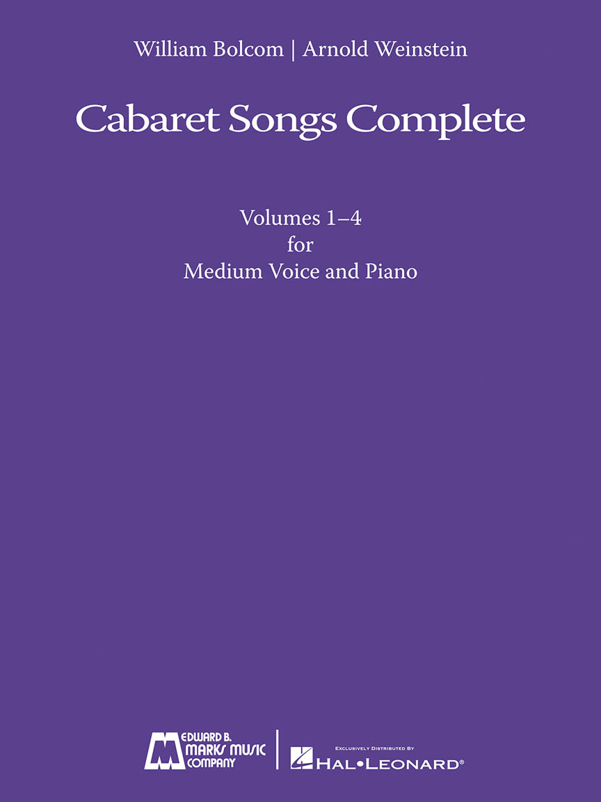 Product Cover for Cabaret Songs Complete