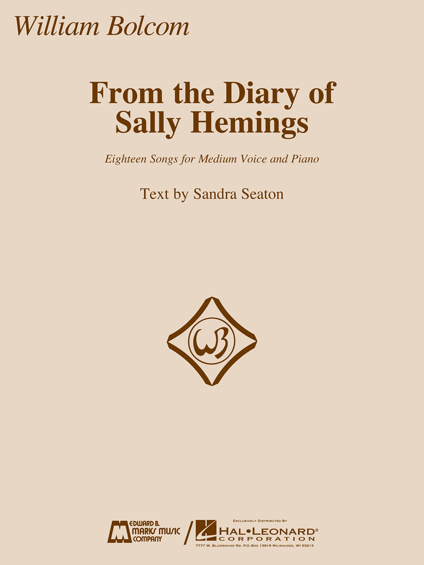 Product Cover for From the Diary of Sally Hemings