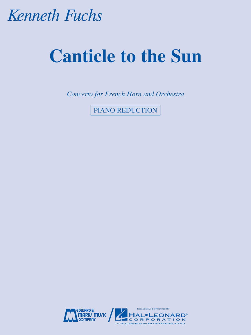 Product Cover for Canticle to the Sun
