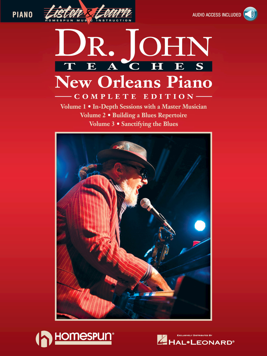 Product Cover for Dr. John Teaches New Orleans Piano – Complete Edition