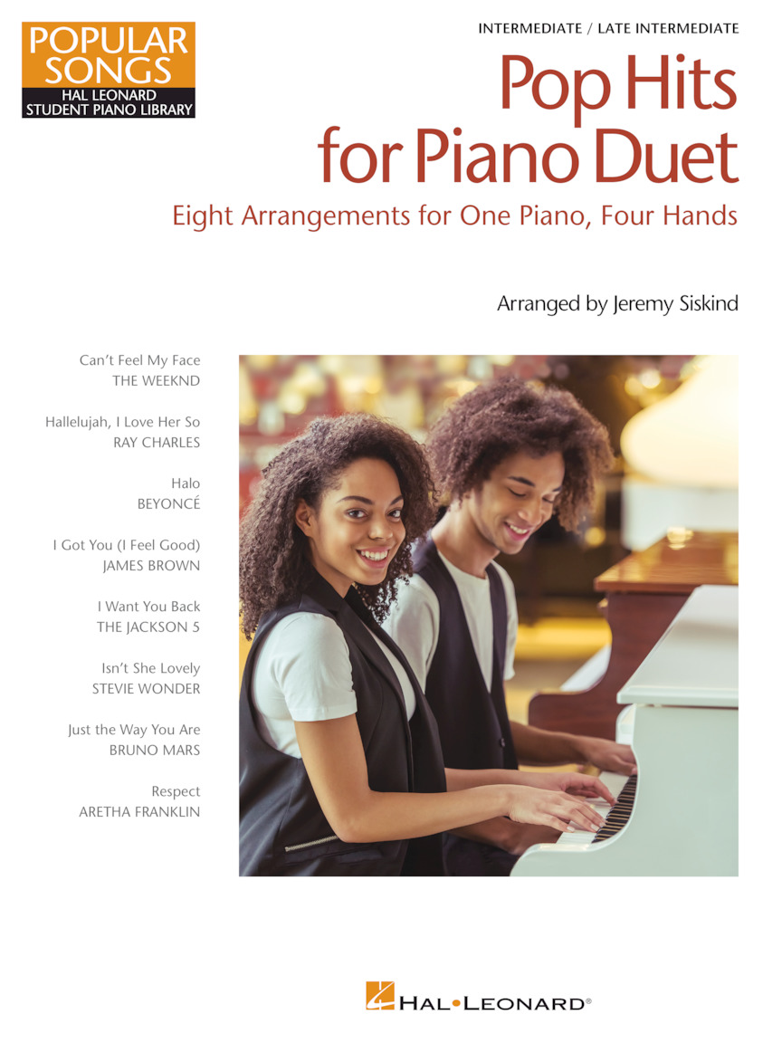 Product Cover for Pop Hits for Piano Duet – Popular Songs Series