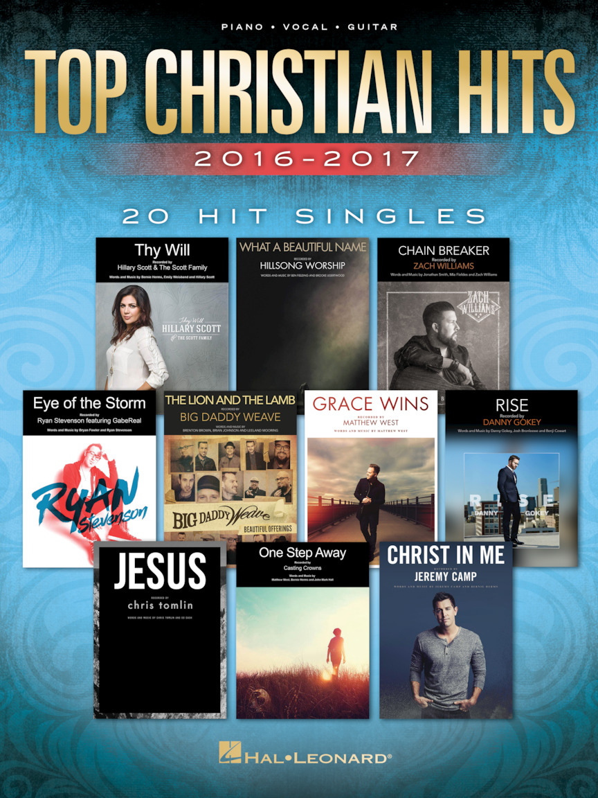 Product Cover for Top Christian Hits 2016-2017