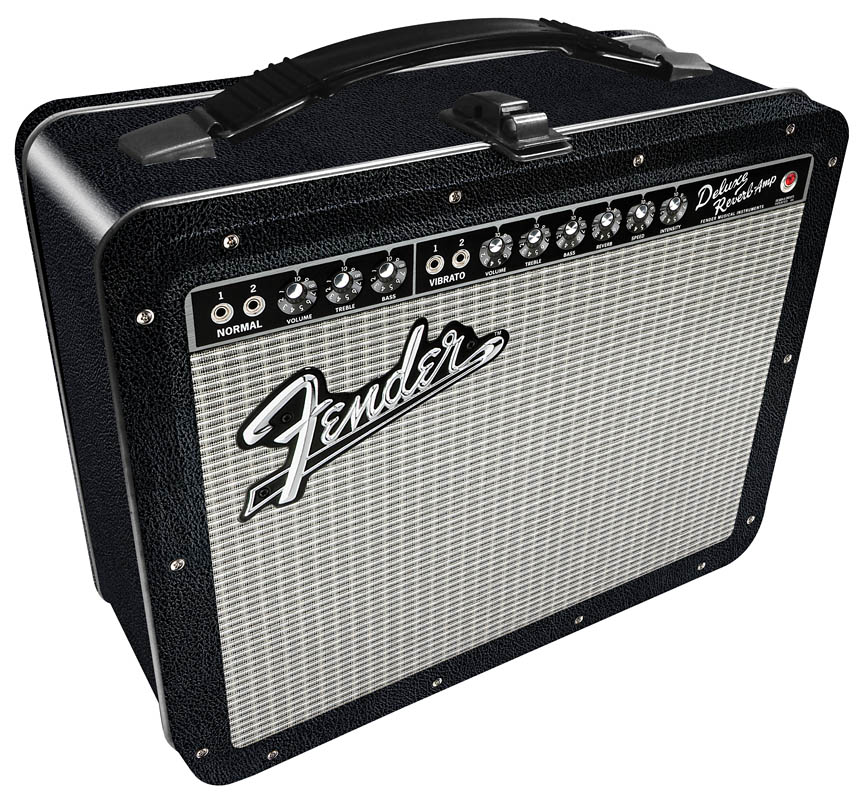 Product Cover for Fender Black Tolex Lunch Box