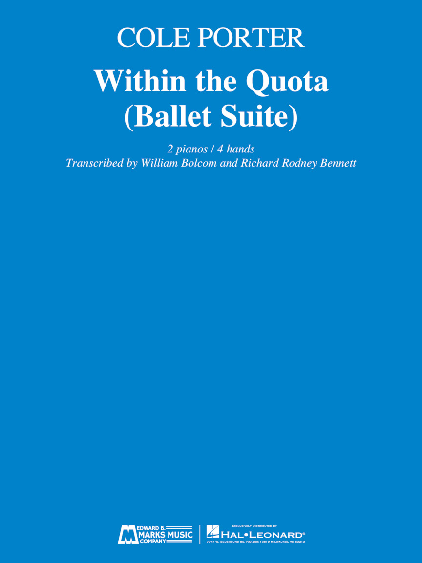 Product Cover for Within the Quota (Ballet Suite)