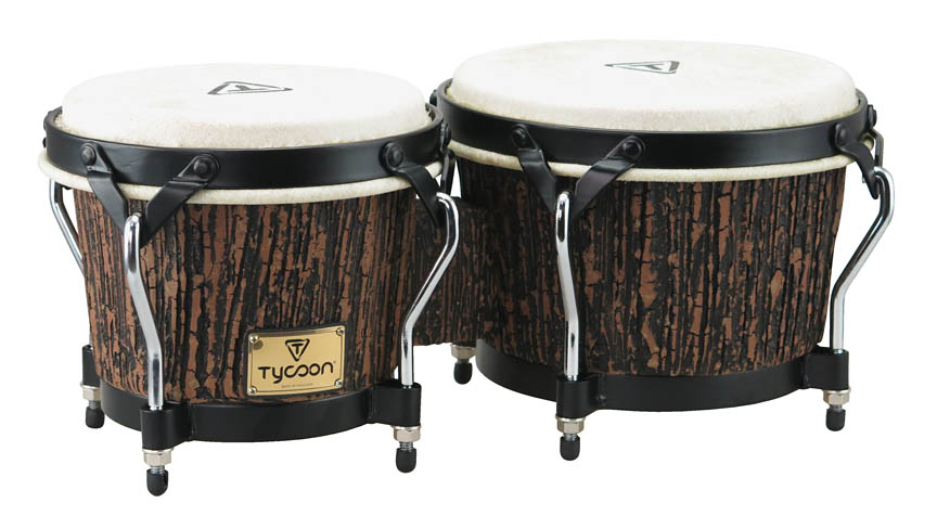 Product Cover for Supremo Select Series Bongos – Lava Wood Finish