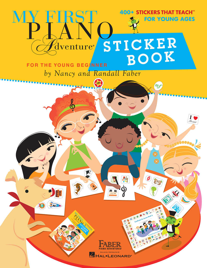 Product Cover for My First Piano Adventure Sticker Book
