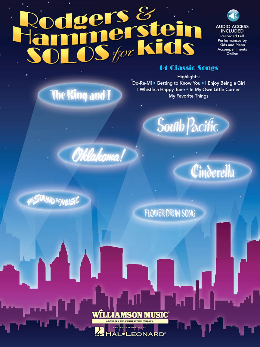 Product Cover for Rodgers & Hammerstein Solos for Kids