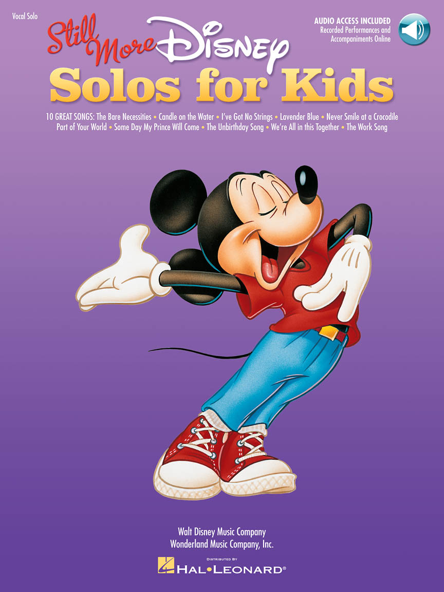 Product Cover for Still More Disney Solos for Kids