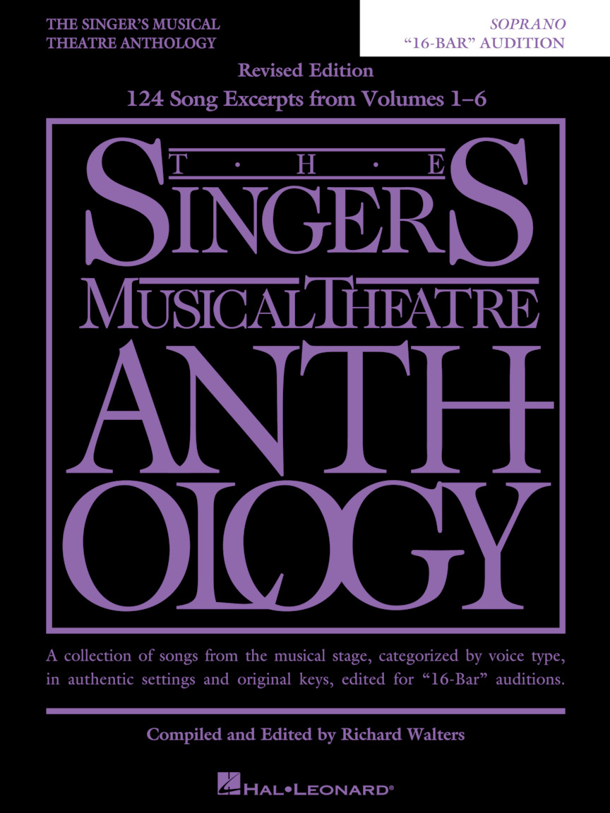 "The Singer's Musical Theatre Anthology – ""16-Bar"" Audition"
