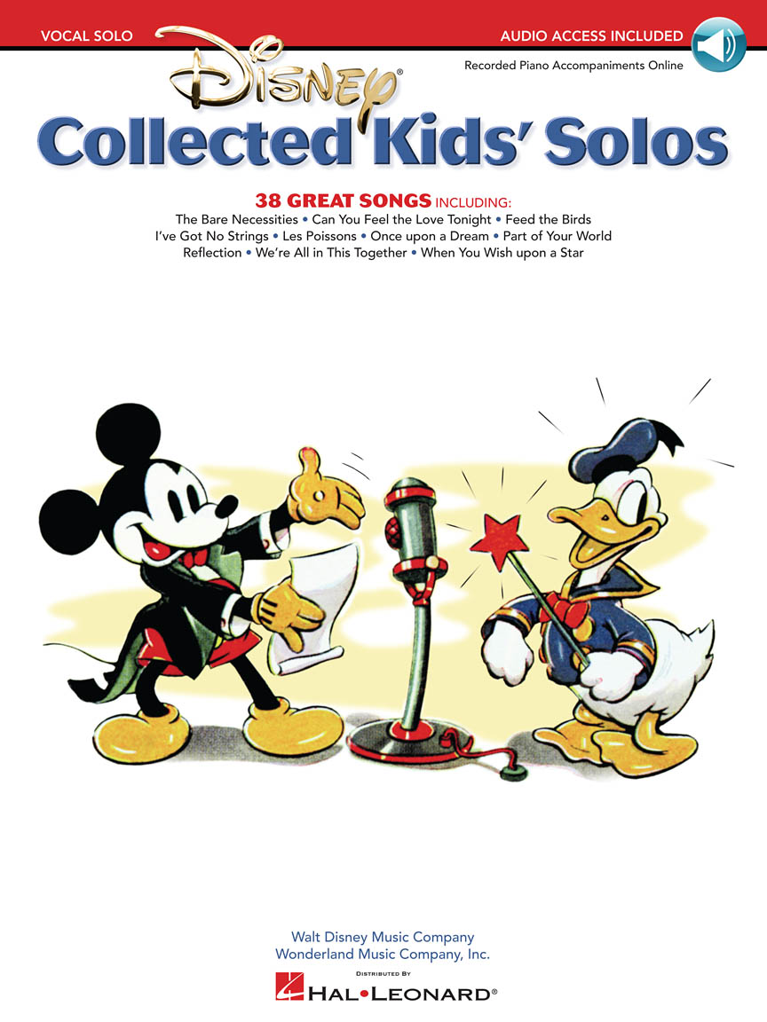 Product Cover for Disney Collected Kids' Solos